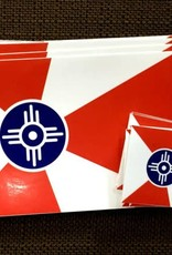 The Workroom Wichita Flag True Color Decal