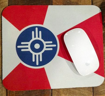 The Workroom Flag Mouse Pad