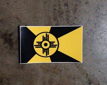 Luke Carter Wichita Shocker Flag Decal