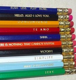 The Big Harumph Funny Pencils