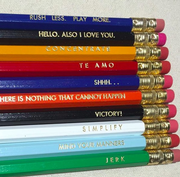 The Big Harumph Funny Pencils