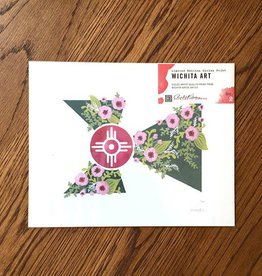 Elisabeth Owens Floral Flag Print no.2