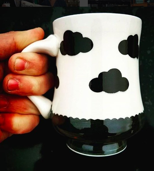Rincones Pottery R&C Ceramic Mug