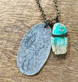Sandcastle Jewelry Stamped Keeper Necklace