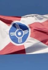 The Workroom Silk Screened Wichita Flag