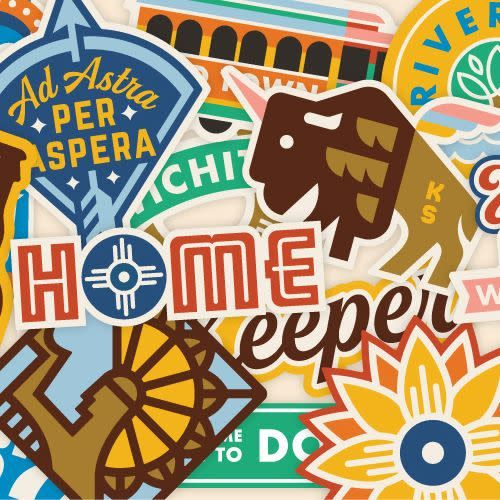 Heartlandia by Gardner Design Wichita KS Heartlandia Decal