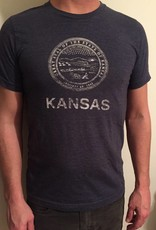Trail Threads Kansas Great Seal Tee