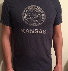 Trail Threads Great Seal of Kansas Tee