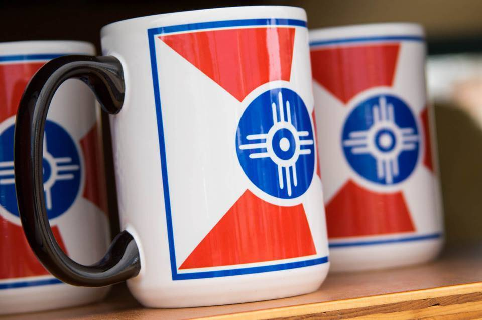 The Workroom ICT Flag Mug- True Color