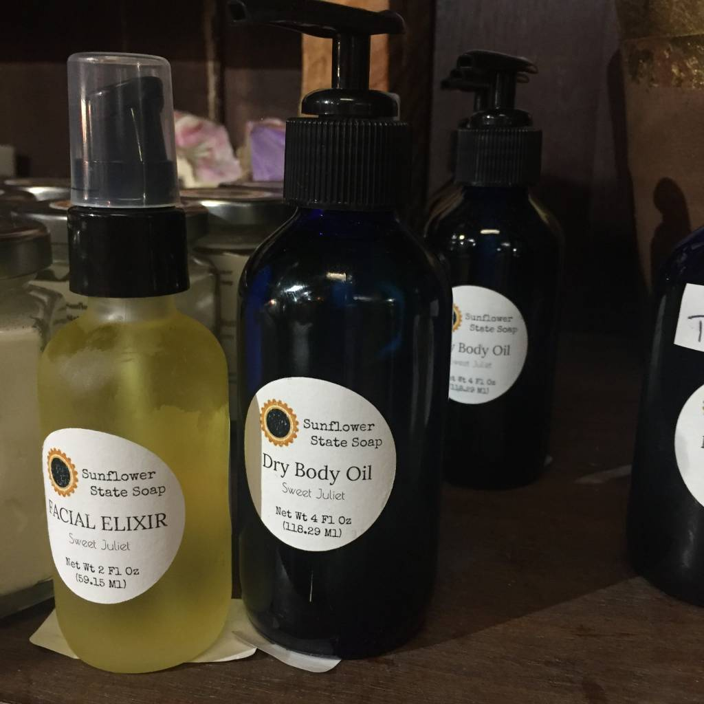 Sunflower State Soap Sweet Juliet Facial Elixir
