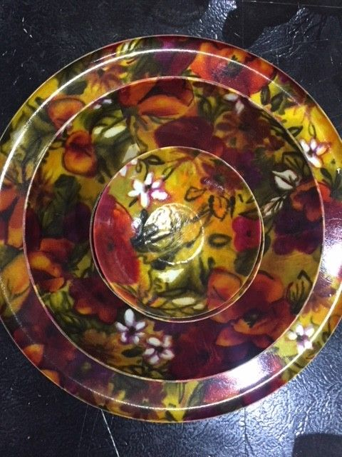 The Workroom '60s Floral Bowl Set
