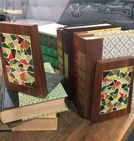 The Workroom Mosaic Bookends Set