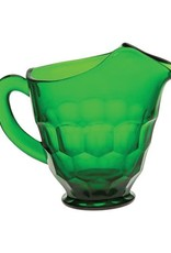 Mosser Glass 54 oz Hunter Green Glass Pitcher