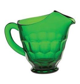 Mosser Glass 54 oz Hunter Green Glass Pitcher