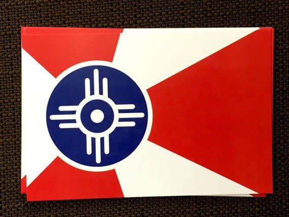 The Workroom ICT Flag Magnet 2x3