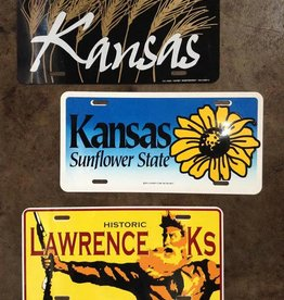 Justin Shiney Sunflower State License Plate