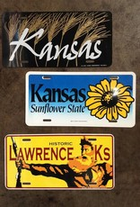 Justin Shiney Lawrence KS License Plate