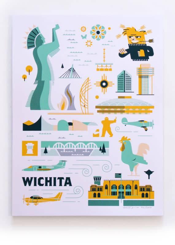 Patrick Giroux Wichita Print - Patrick Giroux