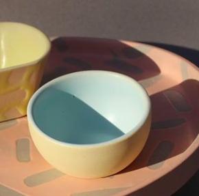 "Del Norte Design Sprinkle Tray (9.5"") Salmon Gloss"