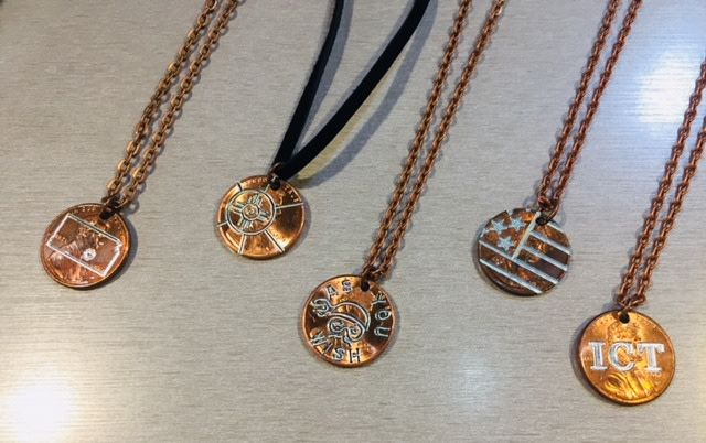 Madi Z's Engraved Penny Necklace