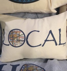 "Julio Designs ""Local"" 16""x12' Lumbar Pillow"