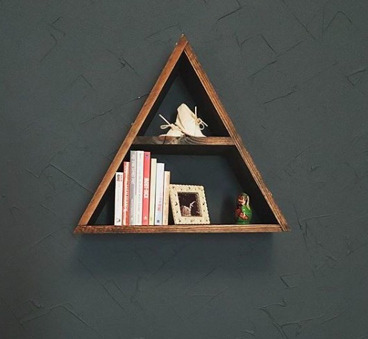 Urban Handcrafted Triangle Shelving