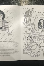 WWRICT Rock & Roll Camp For Girls Coloring Book
