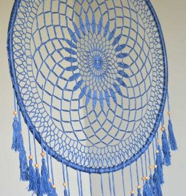The Workroom All Blue Dream Catcher w/short hangs