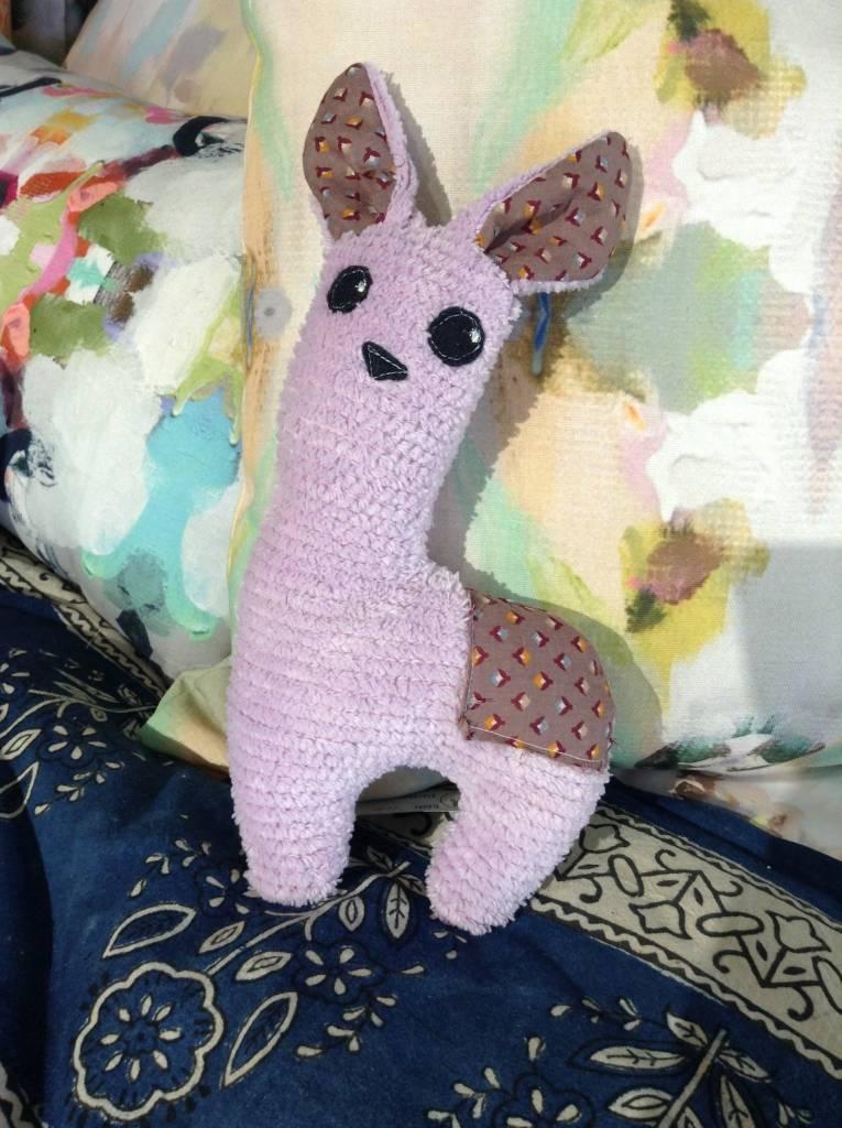 Feather B Plush Toy Llama