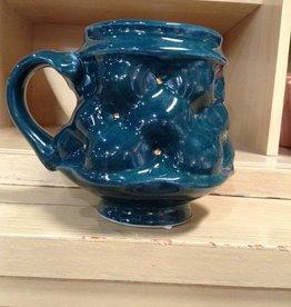 Rincones Pottery Handmade Tufted Mug