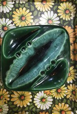 Vintage Vintage Ceramic Ashtray Teal