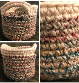 Amy Baptista Crochet Basket