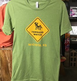 Heartlandia by Gardner Design Tornado watch T-shirt