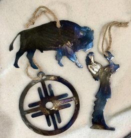 Dark Horse Garage Metal Ornament