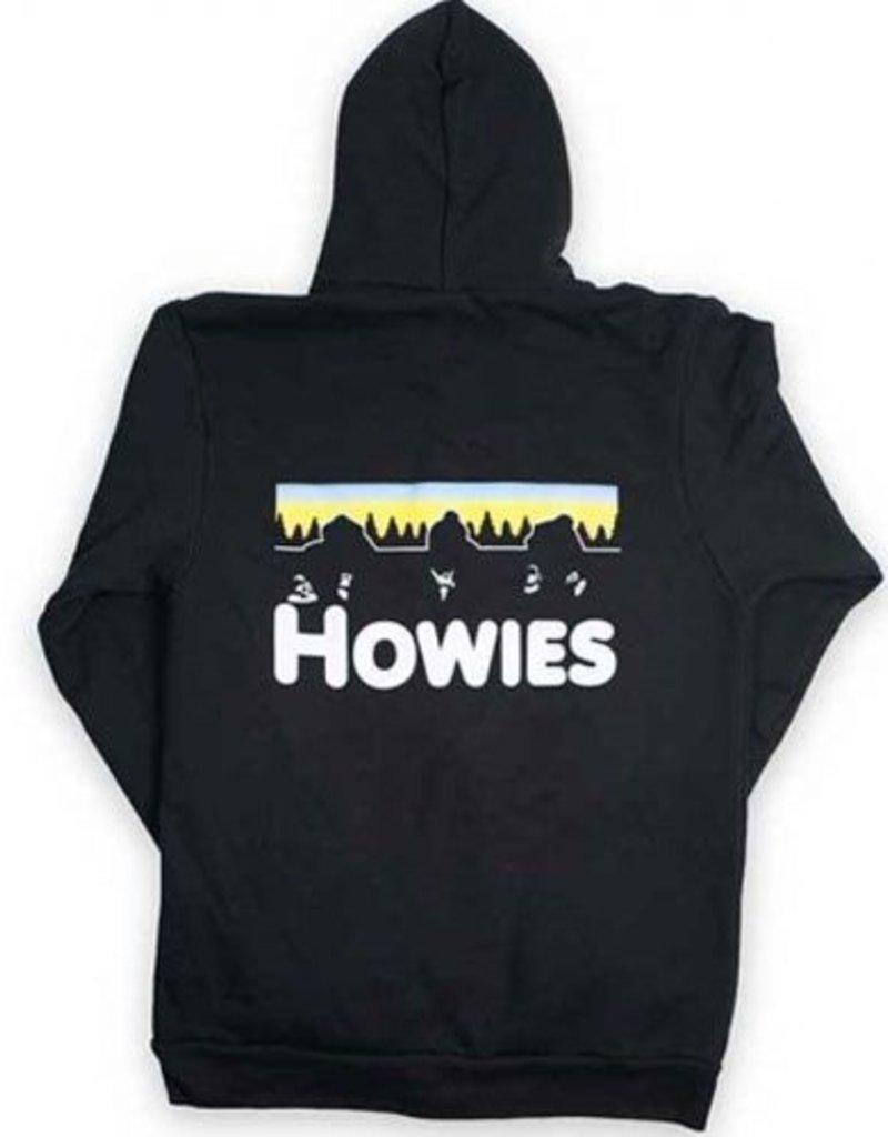 HOWIE'S Howies Norther Lights Hoodie Black XXL
