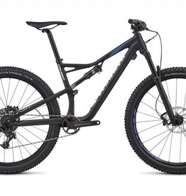 SPECIALIZED 18 SPECIALIZED CAMBER FSR COMP 27.5 MED BLK/CMLN/WHT