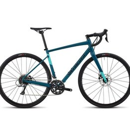SPECIALIZED 18 SPECIALIZED DIVERGE WMN E5 -Teal/Tar Blk/Mint 52