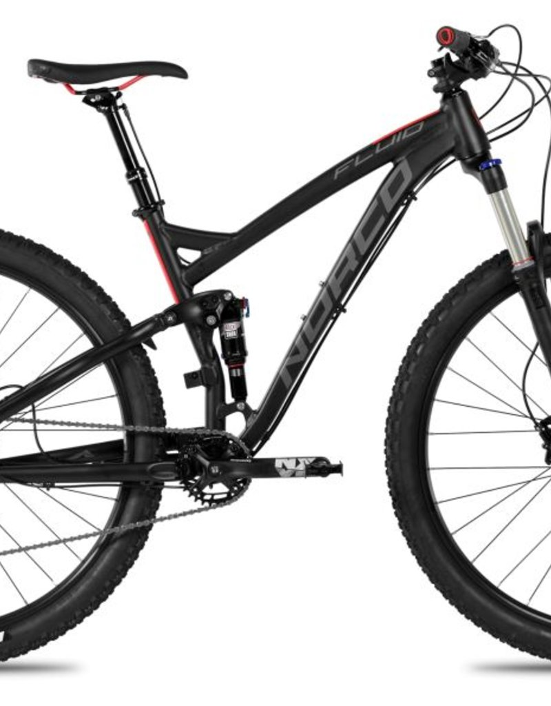 NORCO 17 NOR FLUID 9.1 LG BLACK/RED