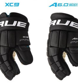 TRUE True XC9 Tapered Zpalm Glove Blk 15
