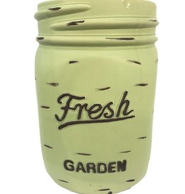 Mason Jar Pot - Green - Large