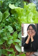 """April 15th, Spring Vege Baskets & Kathy Rossol """"Kale & Other Leafy Greens"""""""