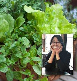 "April 15th, Spring Veggie Baskets & Kathy Rossol ""Kale & Other Leafy Greens"""