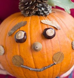 October 21st, Nature Pumpkins for Kids