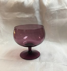 Lavender Footed Rose Bowl, 1970's?