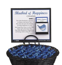 Ganz Blue Bird of Happiness Pocket Charm