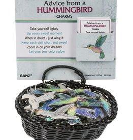Ganz Advice From A Hummingbird Pocket Charm