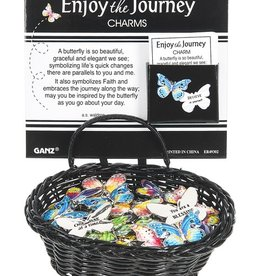 Ganz Enjoy The Journey Butterfly Pocket Charm
