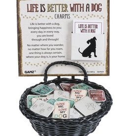 Ganz Life is Better With A Dog Pocket Charm