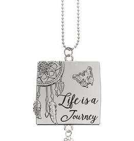 Ganz Life Is a Journey Car Charm