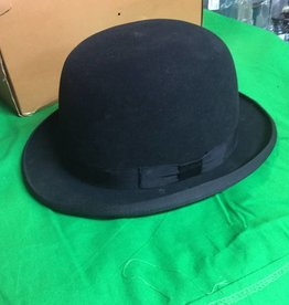 Vintage Bowler Derby Hat with Box